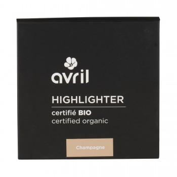 Highlighter champagne Bio