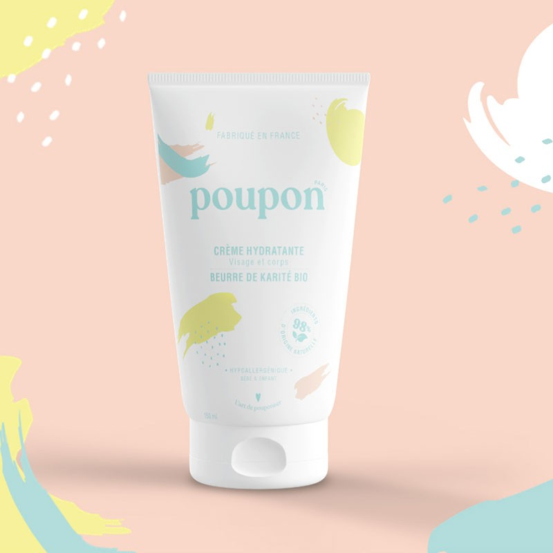Crème corps & visage - bébé