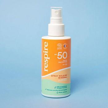 Spray solaire SPF 50