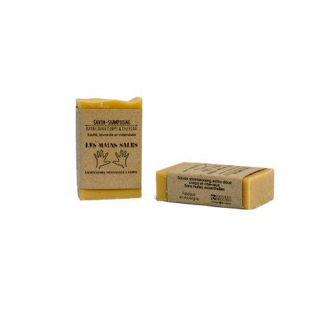 Shampoing / Savon Solide 2 en 1 Naturel