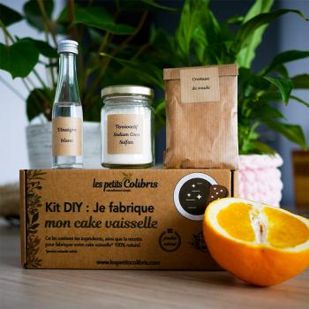 Kit Produit Vaisselle Solide Naturel DIY