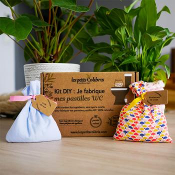 Kit Pastilles WC Naturelles DIY