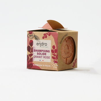 Shampoing solide - Granit Rose
