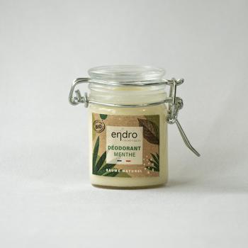 Déodorant Crème Naturel Menthe Poivrée et Cèdre