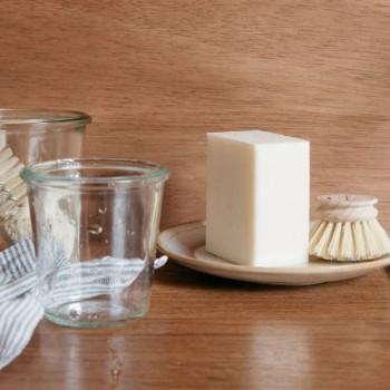 Produit Vaisselle Solide et Naturel Menthe-Citron