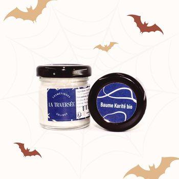 [COSMETIQUE] - Baume Pur Karité . Avec le temps froid qui arrive,❄️ on te conseille de toujours avoir avec toi cette petite merveille ! 🥰 . . Il est multifunction : -tu peux l'utiliser en crème de nuit,🌜 -crème de jour,☀️ -baume à lèvres, 👄 -masque cheveux,💆🏻♀️ -ou encore en crème de massage pour bébé 👶🏼  . . Petite astuce, pour Halloween 🎃 ce baume sera idéal pour protéger ta peau avant ton make up 💄ou bien la nourrir après le démaquillage.  . . C'est un produit magique, non ? 🧙♀️ .  #moncarrenature #ecoresponsable #naturel #madeinfrance #zerodechet #baume #karité #bio #cosmétiques #zeroplastique #conceptgreen #concept #consommergreen #green#fabricationfrançaise #artisanfrancais